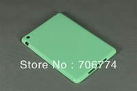 Mint Green Soft TPU Gel Silicone Bumper Case Skin Cover for Apple Ipad mini Free Shipping 10 Colors 100pcs/lot by DHL