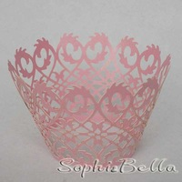 W003F 24 pcs K (2 bags)  cupcake packaging cupcake wrappers baking wrap