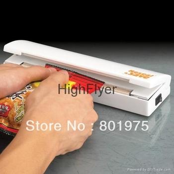 80pcs/lot food sealer, Reseal Save Portable Vacuum Sealer Save Airtight Plastic Bag Preserve Food