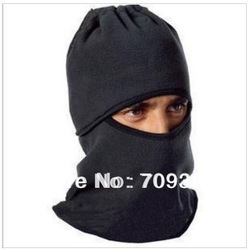 Bike Motorcycle Ski Snow Snowboard Sport Neck Winter Warmer Face Mask New Black and grey[030172](China (Mainland))