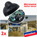 2sets Universal Automatic Door Elevator Microwave Motion Sensor Detector for Commercial Public use, Free shipping by DHL/EMS(China (Mainland))
