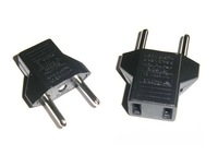 10 X US&EU to EU AC Power Plug Travel Converter Adapter