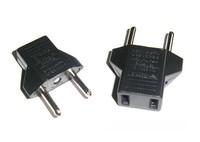 US&EU to EU AC Power Plug Travel Converter Adapter