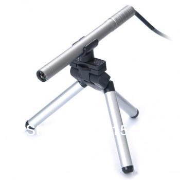 Portable Mini USB Microscope Digital Endoscope with camera 200x 0.3~5MP light LED