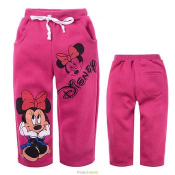 kid's pant minnie design children's fashion pant long pant for autumn winter,kids garment Free Shipping
