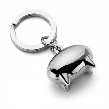 Lovely Emma pig key chain car key chain fashion key ring gift Nickel polishing free shipping