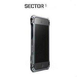Element Vapor Sector 5 Metal Frame Protective Aviation Aluminum Bumper Case Cases for iphone5 with freeshipping(China (Mainland))