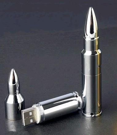 Silver Metal Bullet Shape Genuine USB 2.0 Flash Pen Drive Disk Memory Sticks 4GB 8GB 16GB 32GB 64GB Free Shipping(China (Mainland))