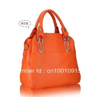 6 colors fashoin woman soft PU Hand bag