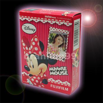 Polaroid Fuji Fujifilm Minnie Mouse Instax Mini Film ( 10 sheets photo ) for Instant Camera 7s 25 50s 50i 55i