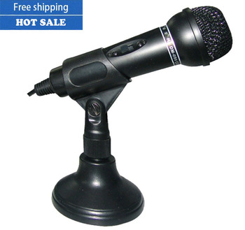 Free shipping ,New arrival HIGH quality capacitor Wired karaoke professional microphone household Voice chat mic