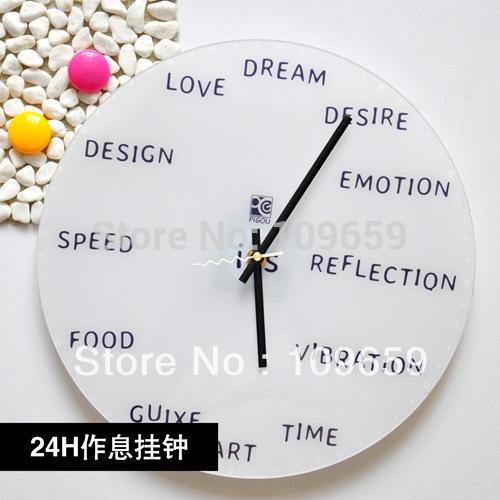 Настенные часы Creative DIY 24 ,  wc/10 WC-10 e2e c03sr8 wc c1