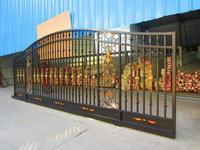 wrought iron slide gates/sliding door  Item#JX-T1000 for your luxurious villa
