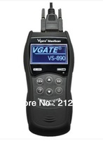 New Arrival Vgate MAXISCAN VS890 Code Reader Scanner Supports 13 languages Free Shipping