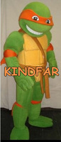 Teenage Mutant Ninja Turtles Mascot Costume Tortoise Adult Character Fancy Dress Suit Free Shipping