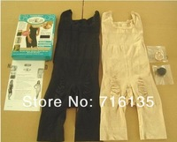 DHL Free Shipping Slim n lift/slim lift Underwear Full Body Shaper with Strap Beige and black Wholesale 50pcs