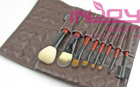 Кисти для макияжа 7PCS travel Makeup brush Set with Animal Hairs Dropshipping