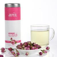 field farmer herbal tea rose tea super import pink French rose to raise colour tea bag mail