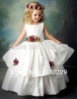 Flower girl dresses for weddings Girl party dress Flower Girls dresses  LJ033 Vestido de dama de honra de crianca