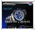 New arrived DHL free shipping,top quality led and analog watch, waterproof,fashion style for man, best gift for your friend