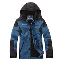High quality outdoor color block decoration Men thermal ski suit fleece liner 1.1 2724