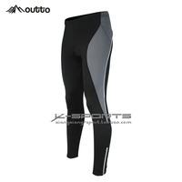 Bike pants - riding the fleece trousers male models - warm winter pants - silica gel pad riding pants