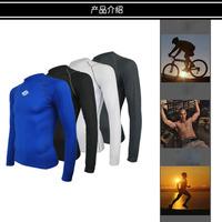 Long-sleeved cycling jerseys