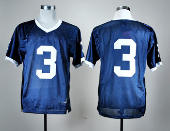 Free shipping ncaa colleage football jerseys,Penn State Nittany Lions 3 Navy Blue College Football Jersey