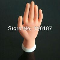 Nail Art Equipment False hand Adjustable Nail Art Fake Hand for Training & Practice