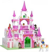 Sluban Pink Dream Series Dream Castle Building Block Sets 508pcs Enlighten Educational DIY Construction Brick toy M38-B0151