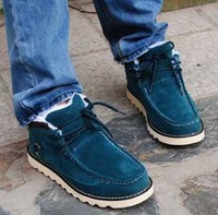 Free shipping The trend of the snow men's boots  flat martin boots fashion boots casual men's shoes  DZ1504