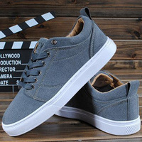 Free shipping Spring fashion  Men nubuck leather Flats casual shoes men's skateboarding shoes DZ1385