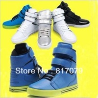 Мужские кроссовки 2012 fashion retail hot sneakers high casual shoes autumn winter flats canvas shoes DZ132001
