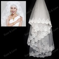 Free Shipping Highest Wholesale Wedding Veils Bridal Accesories Lace Veil Bridal Veils V-001