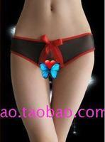 Wild sexy panties open file panties t open-crotch panties