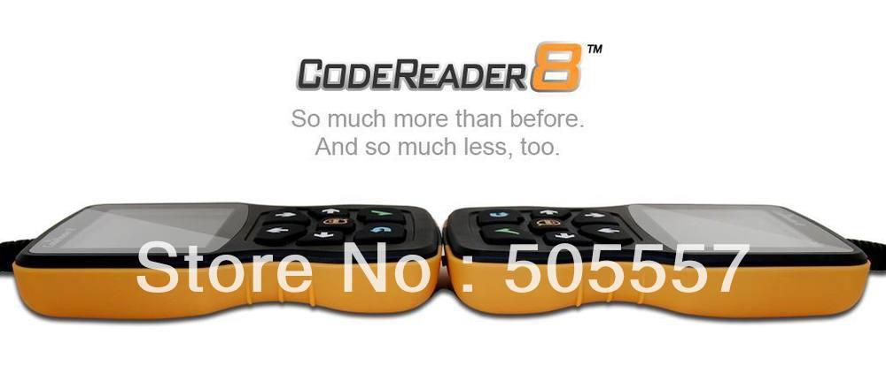 2013 Promotional Car Code Reader VIII+Free shipping(Hong Kong)