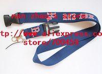 Hot 10pcs RED SOX Baseball Lanyard sport Lanyard for MP3/4 cell phone/ key /Neck Strap Lanyard WHOLESALE Free shipping