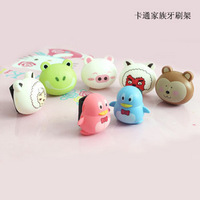 Min.order is $15 (mix order) Korea Hot sell ! cartoon automatic toothbrush holder use for hanging toothbrush DZ1395