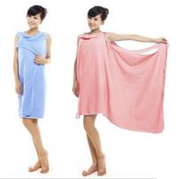 Free Shipping Super absorbent /magic bath towel /soft /thermal bathrobe/can wear