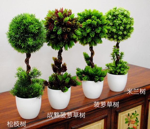 Bonsai tree artificial plants bonsai home decoration trend