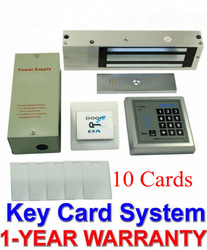 1100 LBs Kit Electric Door Lock Magnetic Access Control ID Card Password System Free Shipping(China (Mainland))