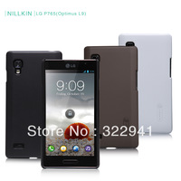 Free shipping,Original NILLKIN hard matte cover for LG Optimus L9 P769 P765, with screen protector