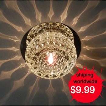 hallway lighting  crystal ceiling light  wholesale Hotel ceiling lamp fashion ceiling lighting