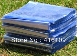 Free shipping,Heat shrinkable film, PVC shrink film, thermal contraction packing bag 40x52cm(China (Mainland))
