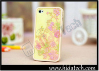 3 in 1 Hard PC Bumper Cover Case for iPhone 4,100pcs/lot,DHL Free Shipping!