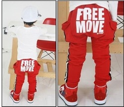 baby cargo pants kids casual trousers children pocket long pants boys girls drawstring cotton trousers spring autumn bottom wear(China (Mainland))