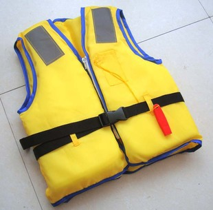 Free shipping yellow Life vest foam child life vest swimwear for children