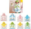 Free shipping new design  hooded baby towel infant bath Robe with Cartoon Terry Bathrobe bath towel Hooded kid's bath towel