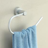 Modern design Space aluminium bath towel ring modern towel holder decorative bathroom accessories