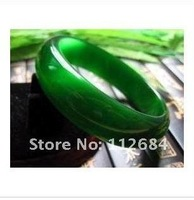 Elegant green cat 's-eye bracelet widened super flash cat eye shadow 54-62 mm